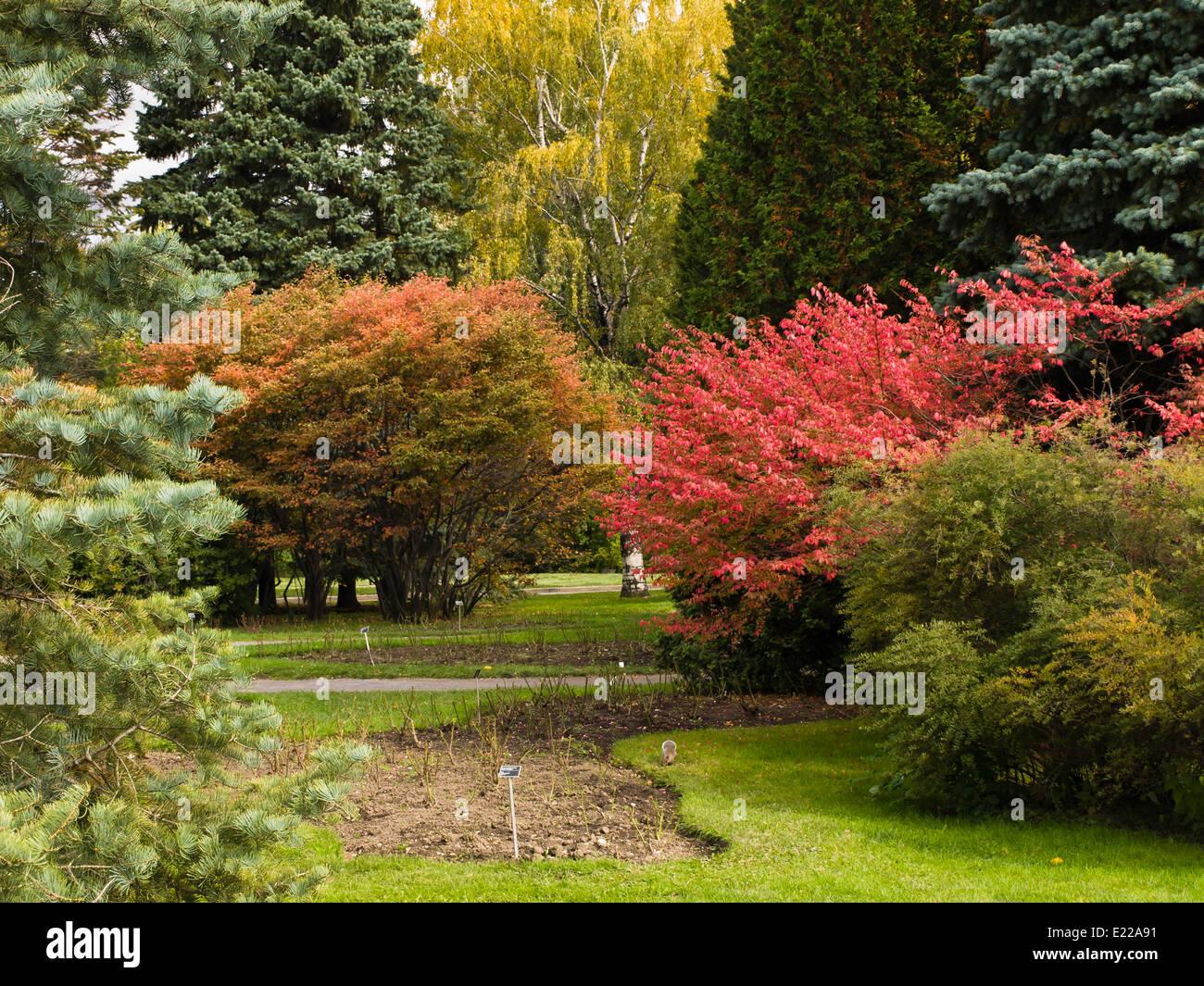 Montreal Botanical Garden Stock Photos & Montreal Botanical Garden ...
