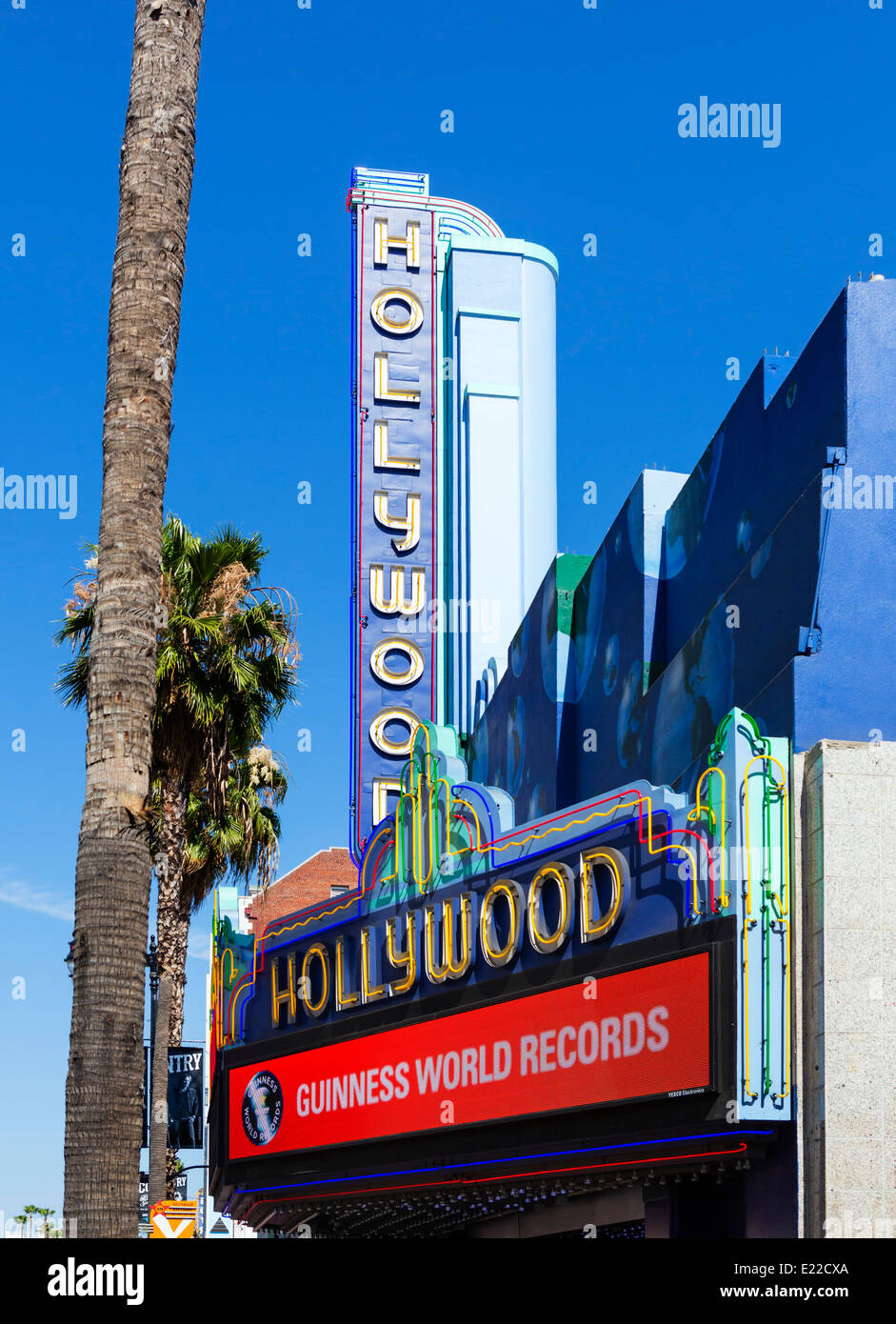 Ripley's Guinnes World Records Museum, Hollywood Boulevard, Hollywood, Los Angeles, California, USA - Stock Image