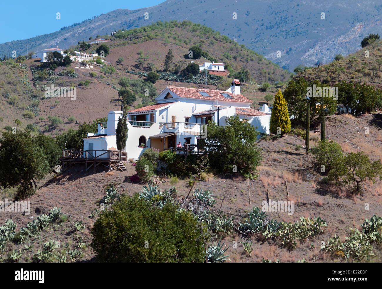 Canillas De Aceituno Malaga Spain Spanish White House Villa Estate