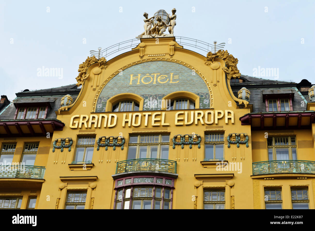 grand hotel europa stock photos grand hotel europa stock images alamy. Black Bedroom Furniture Sets. Home Design Ideas
