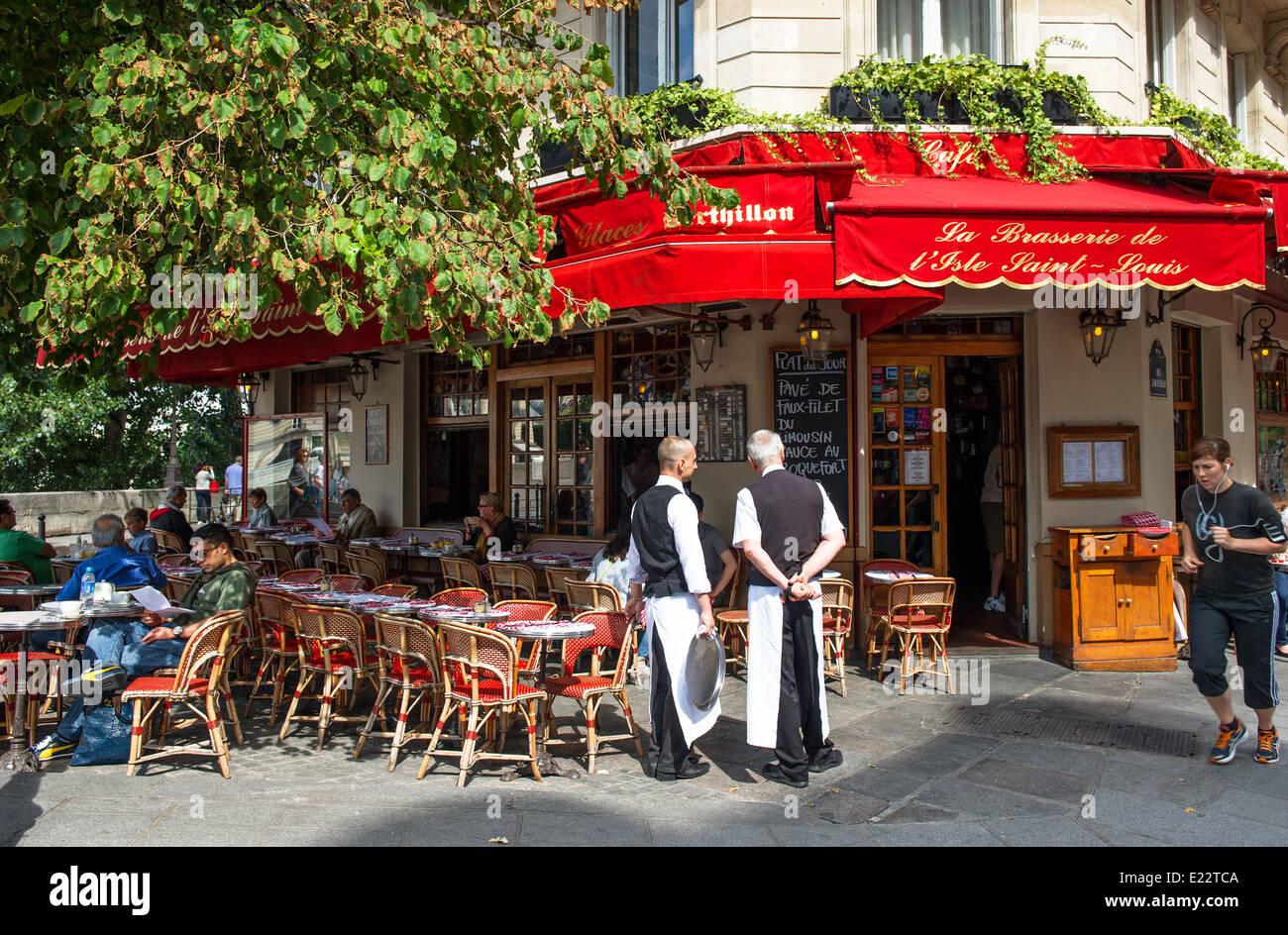 Famous Street Paris Restaurants