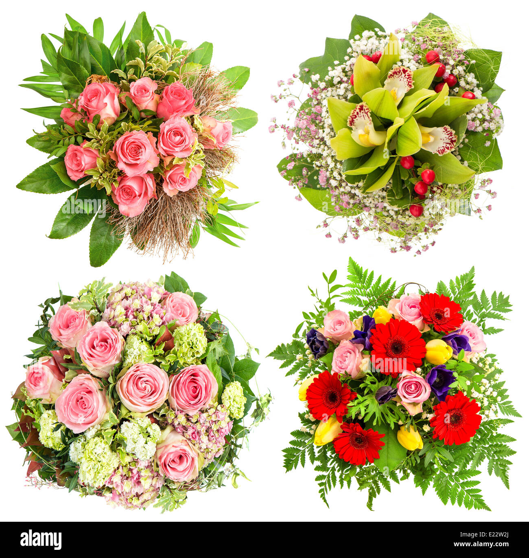 Happy Birthday Card Pink Orchid Stock Photos Happy Birthday Card
