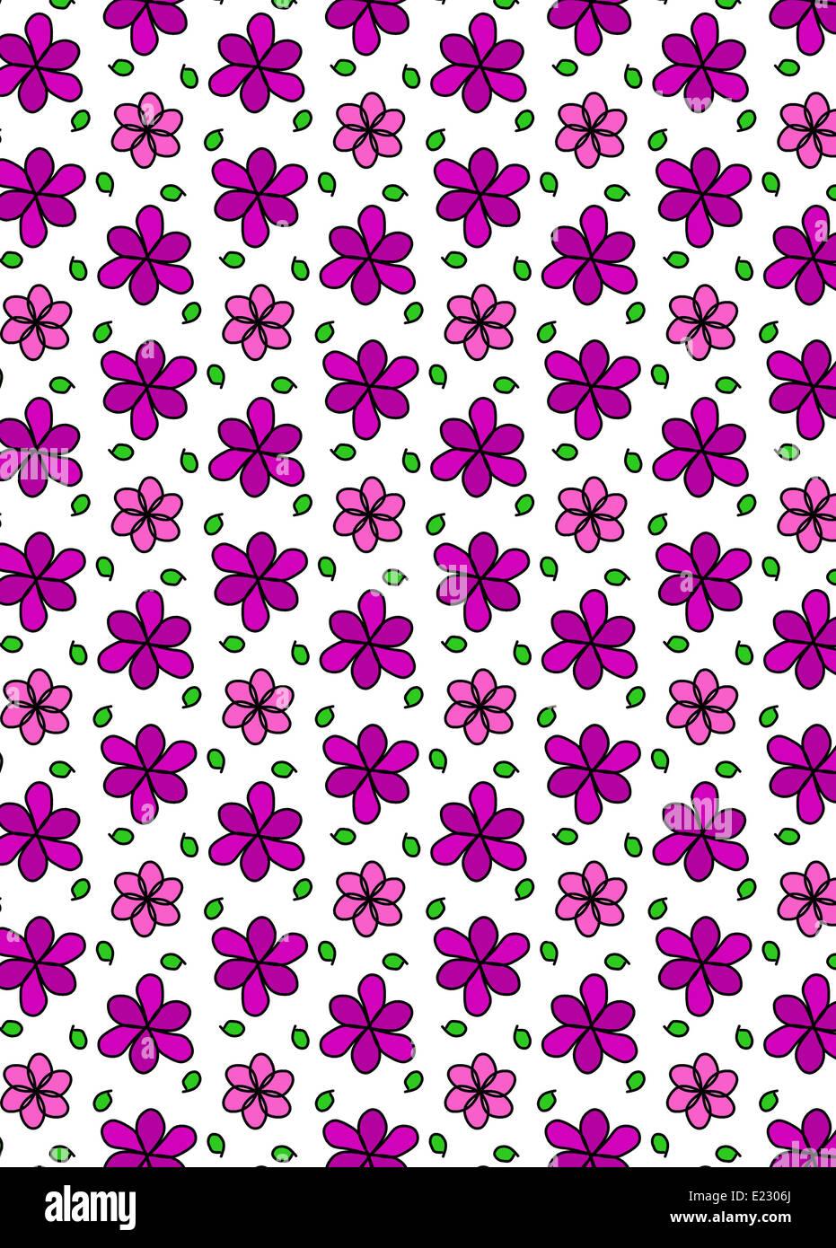 Illustration of symmetrical patterned flowered wallpaper stock photo illustration of symmetrical patterned flowered wallpaper mightylinksfo
