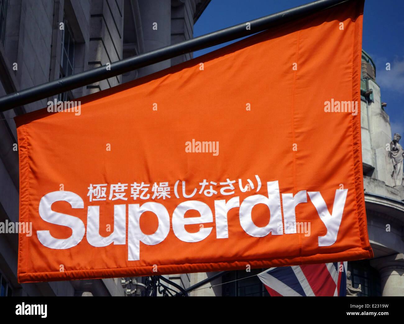 Superdry Store Shop Uk Stock Photos & Superdry Store Shop ...