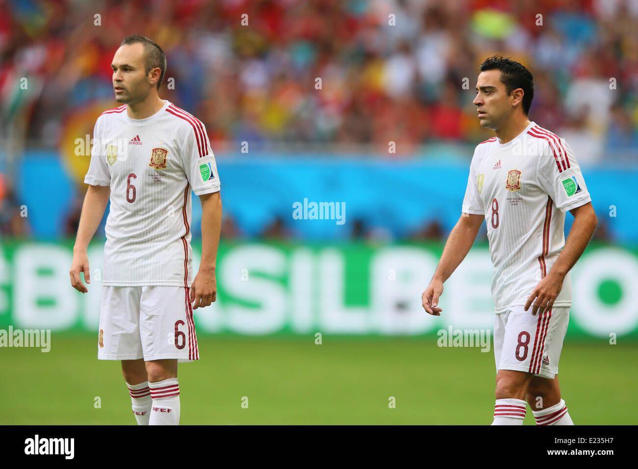 69f42328d Xavi And Iniesta Stock Photos   Xavi And Iniesta Stock Images - Alamy