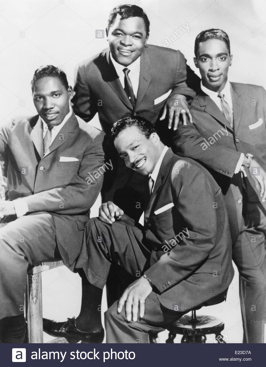 The Drifters, circa 1960. Courtesy Granamour Weems Collection Editorial use only. - Stock Image