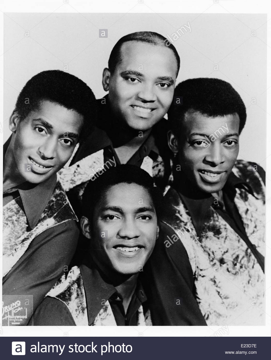 The Drifters, circa 1960. Courtesy Granamour Weems Collection. Editorial use only. - Stock Image