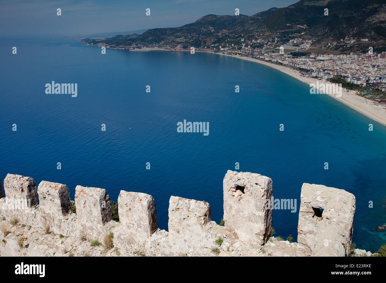 Alanya Castle - Stock Image