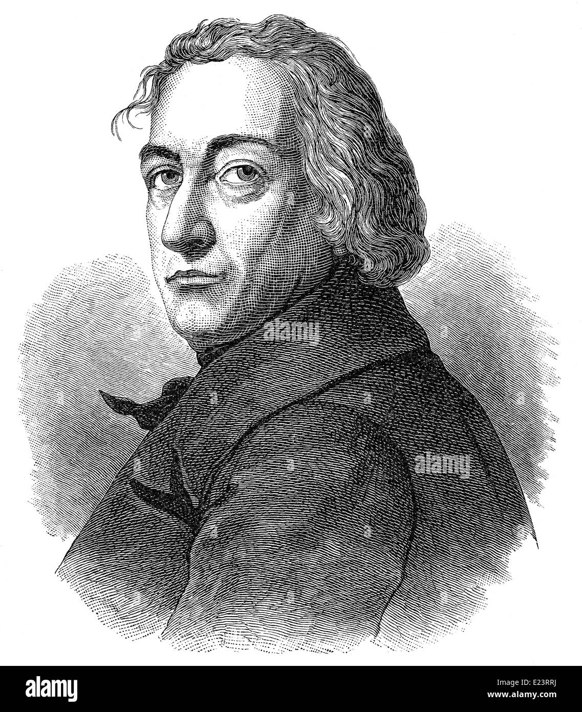 Claude Louis Berthollet, 1748 - 1822, a Savoyard-French chemist, - Stock Image