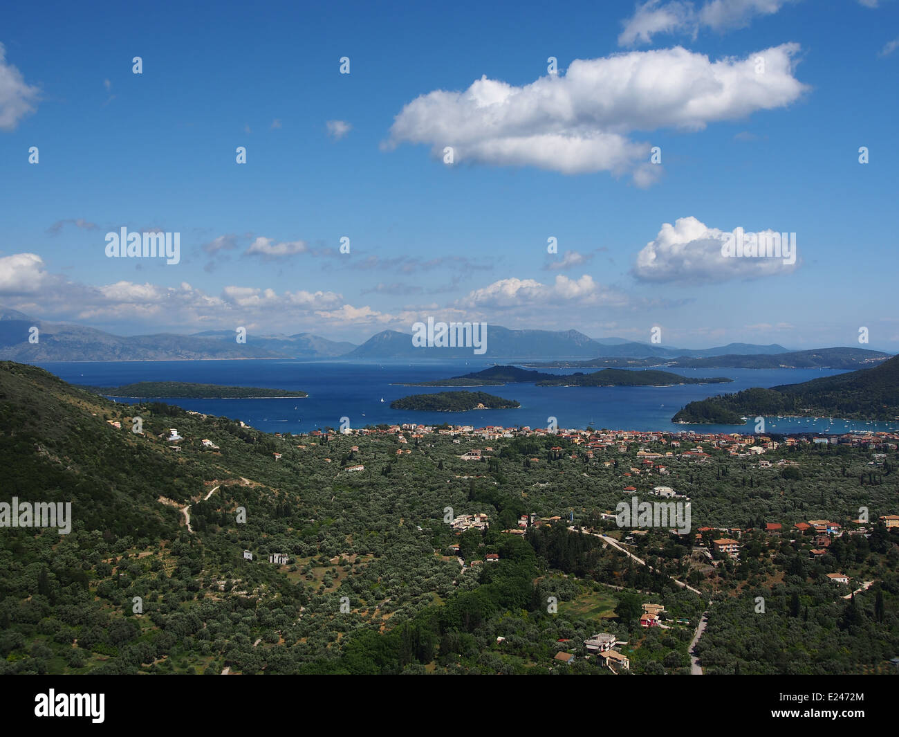 Ionian sea islands, pic7 - Stock Image
