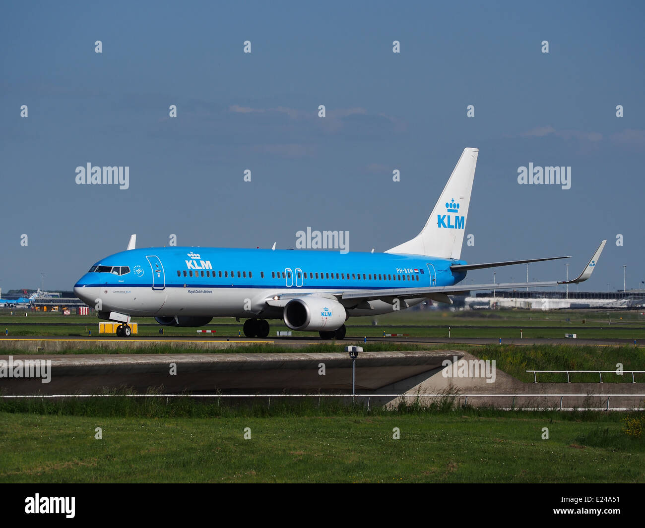 PH BXM KLM Boeing 737 800 Taxiing At Schiphol AMS