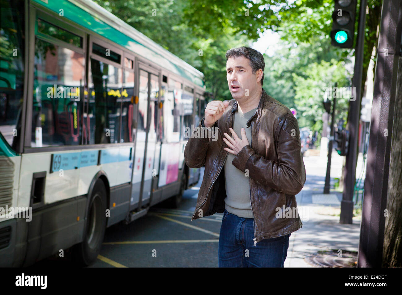 Air pollution - Stock Image