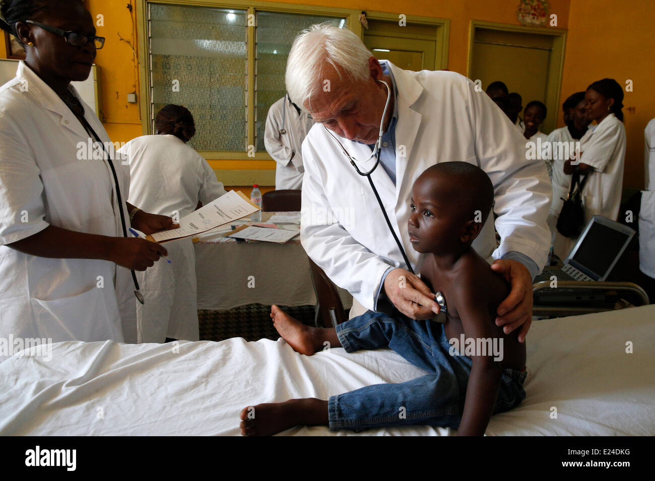 Humanitarian medicine - Stock Image