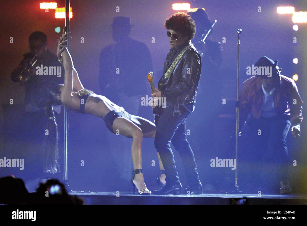 During The Mtv Europe Music Awards Stock Photos & During The