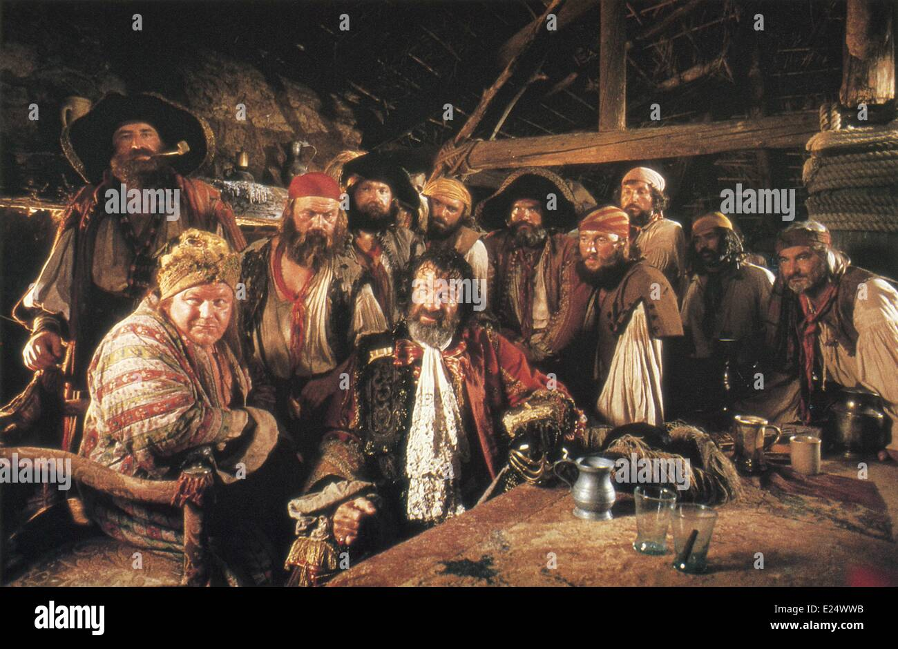 Walter Matthau and cast in ''Pirates'' (1986)  Directed by