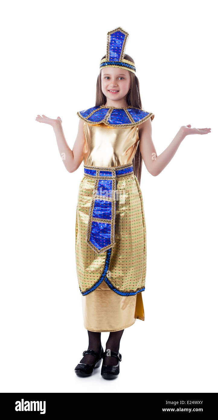 Image of pretty girl posing in Cleopatra costume  sc 1 st  Alamy : cleopatra costume girl  - Germanpascual.Com