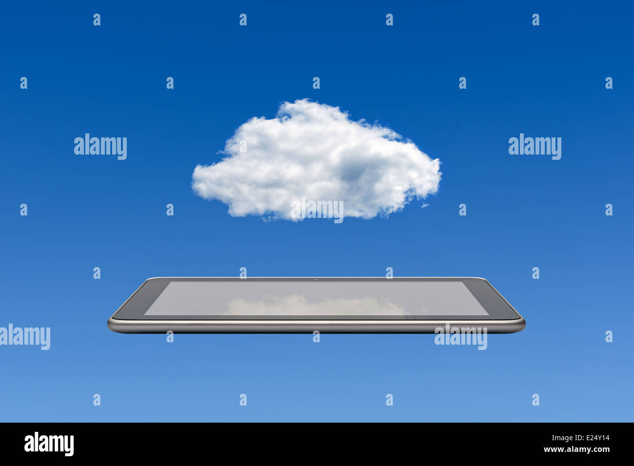 Cloud Computing. - Stock Image