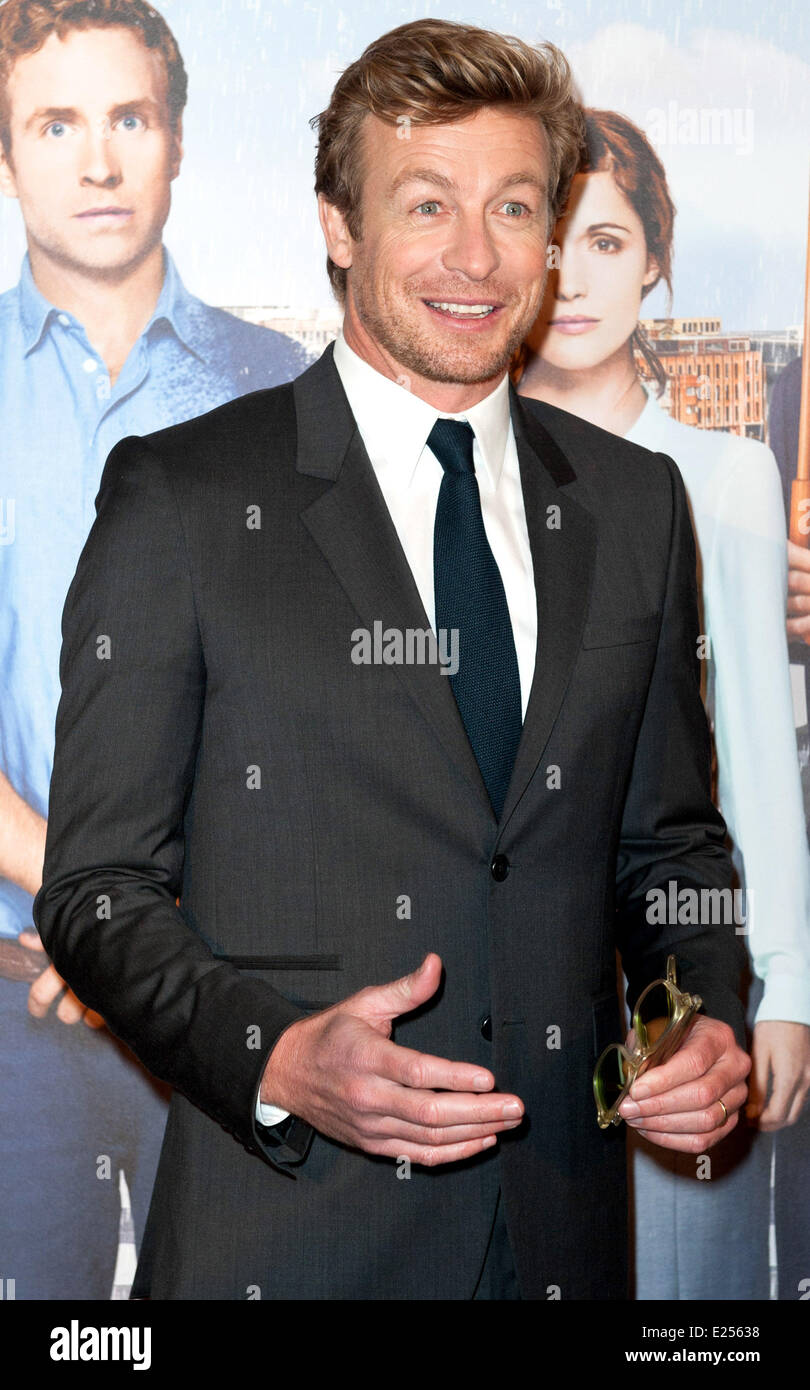 'Mariage A l'Anglaise' (I Give It A Year) Paris Premiere held at Cinema UGC Normandie - Arrivals  Featuring: - Stock Image