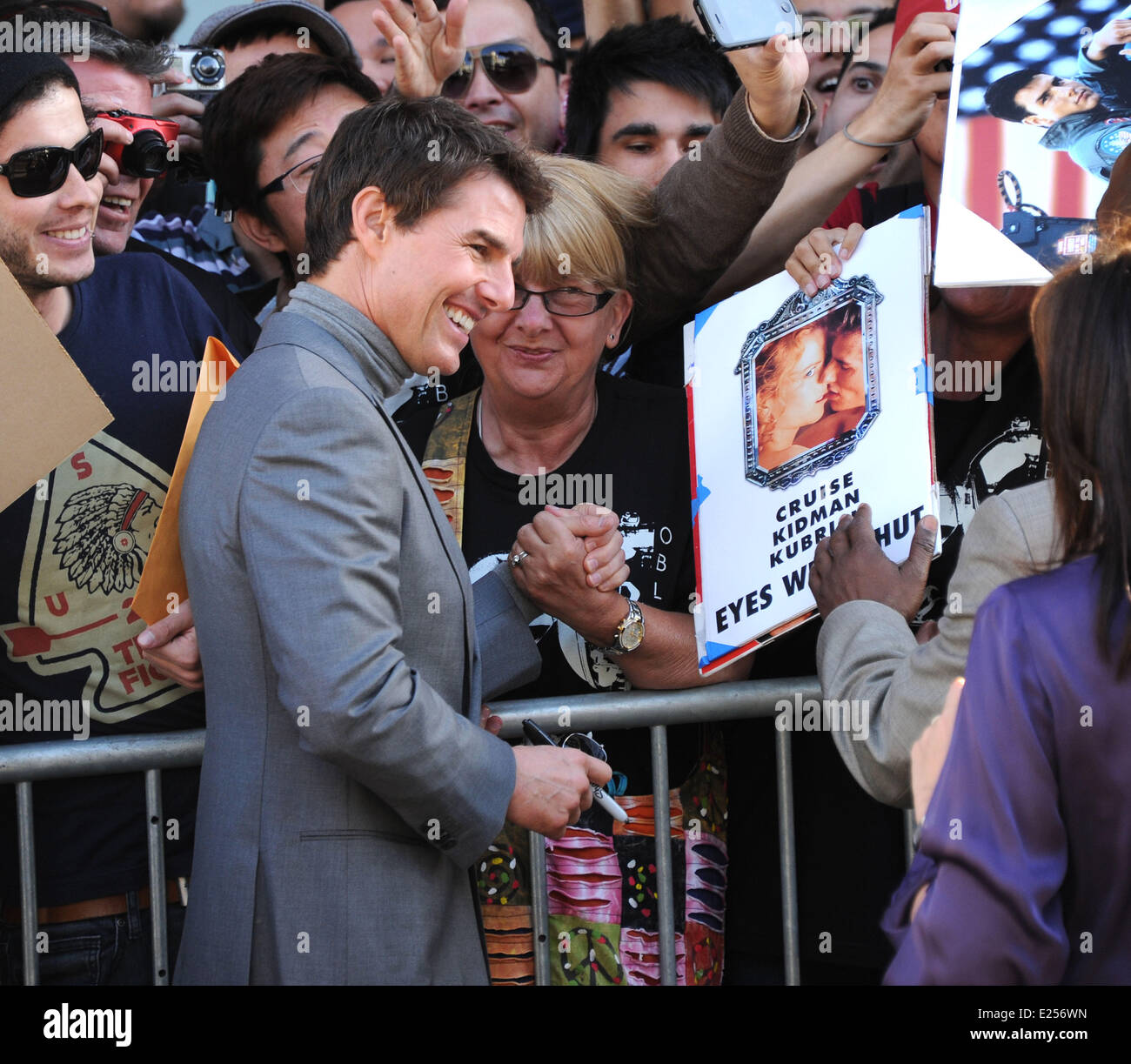 The Los Angeles premiere of 'Oblivion' at The Dolby Theatre  Where: Hollywood, California, United States - Stock Image