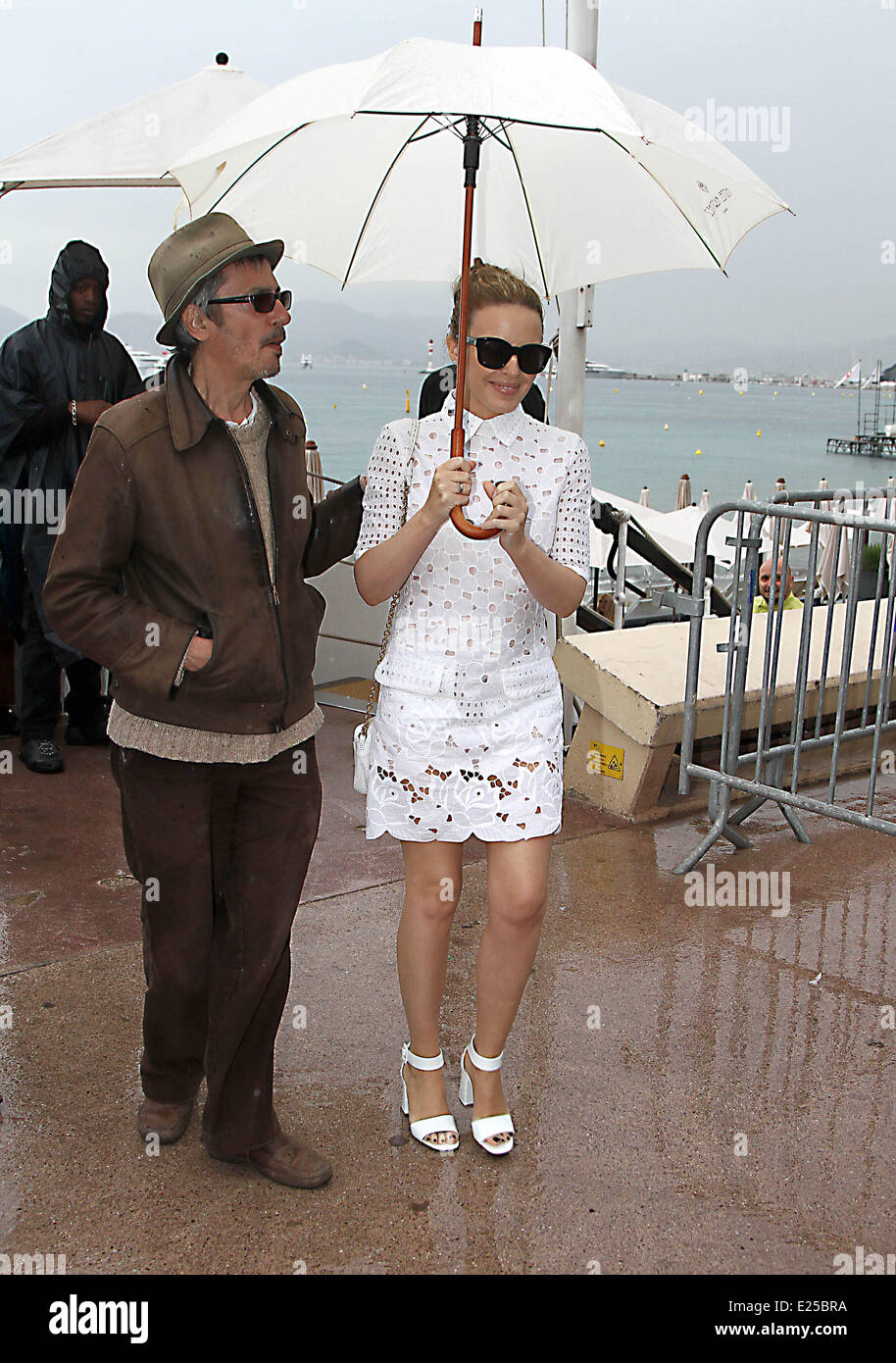 66th Cannes Film Festival - Celebrity Sighting - Day 8  Featuring: Kylie Minogue Where: Cannes, France When: 22 - Stock Image