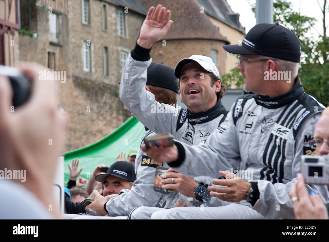Hollywood Actor And Motor Racing Enthusiast Patrick Dempsey Attends