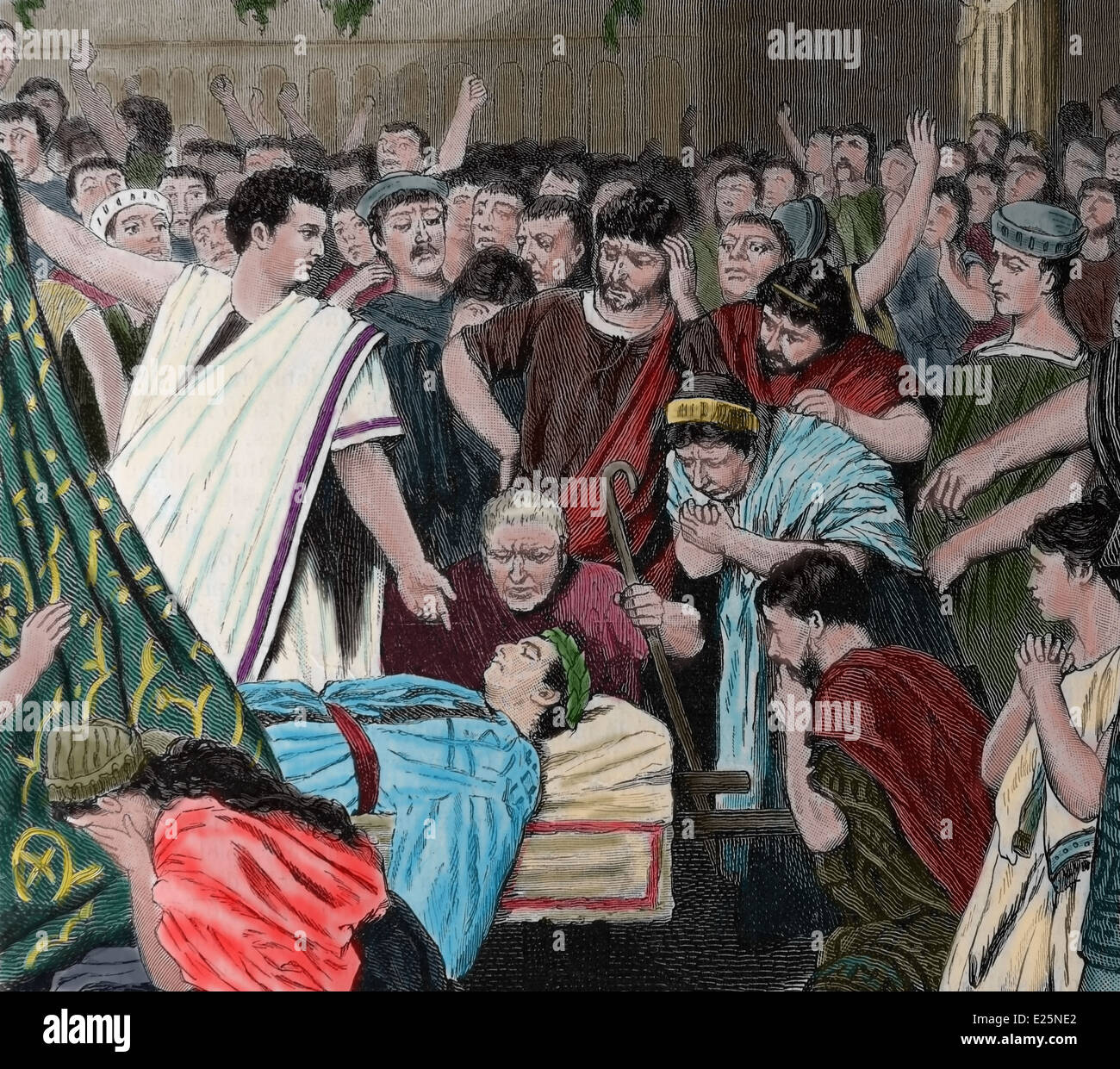 a report on the assassination of julius caesar Julius caesar summary provides a quick review of the play's plot including every important action in the play julius caesar summary is divided by the five acts of the play and is an ideal introduction before reading the original text.