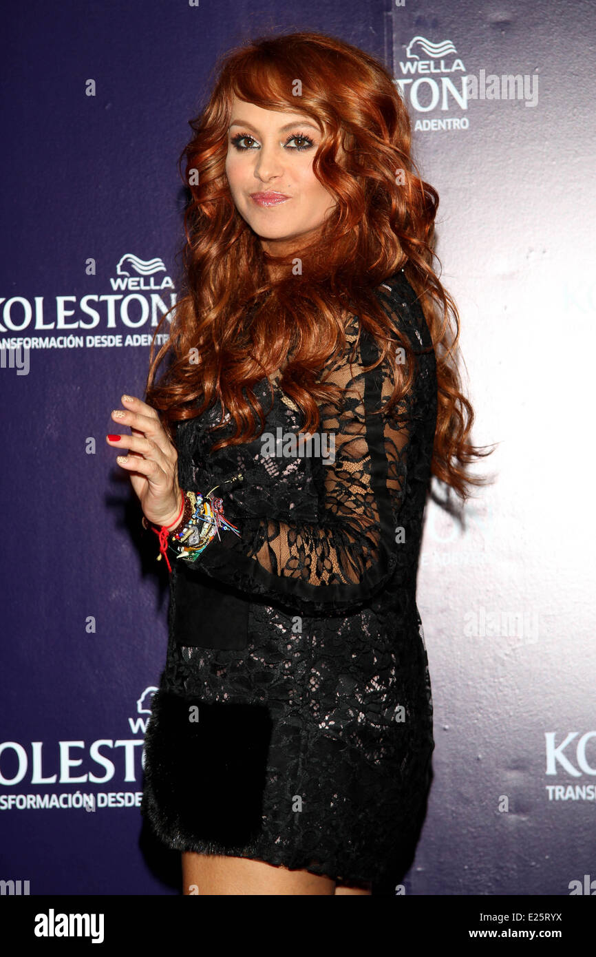X Factor Judge Paulina Rubio Reveals Her New Red Hair Color While