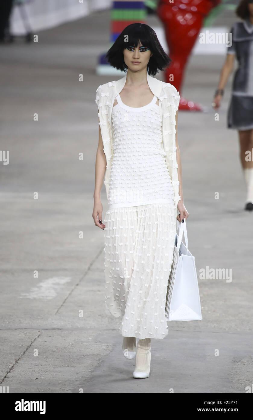 db958831520 Paris Fashion Week Ready to Wear Spring Summer 2014 - Chanel - Catwalk  Where  PARIS