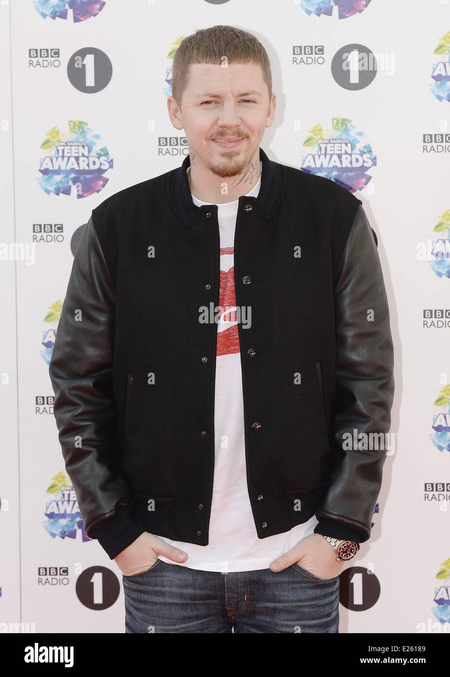 BBC Radio 1's Teen Awards held at Wembley Arena - Arrivals Featuring:  Professor Green Where: London, United Kingdom When: 03 Nov 2013