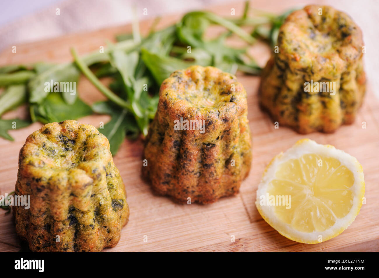 Spinach Salmon Cakes