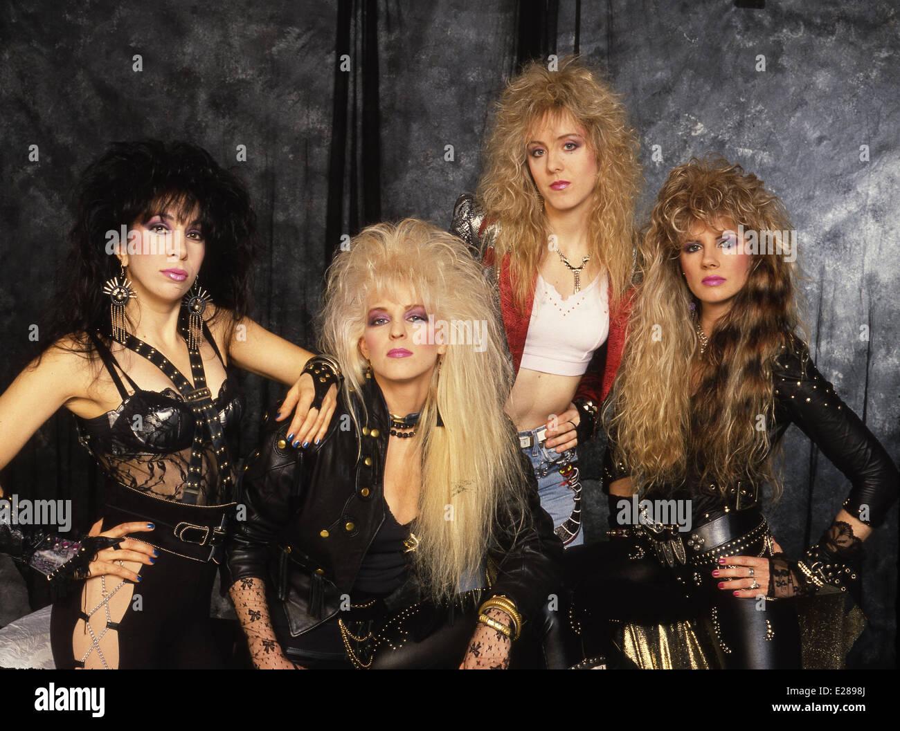 All-female glam metal band Vixen Featuring: Roxy Petrucci