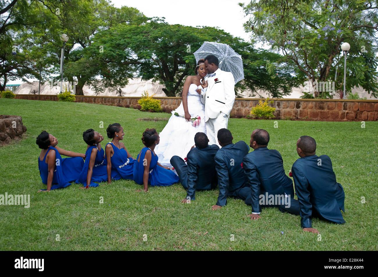Wedding ( Ethiopia) - Stock Image
