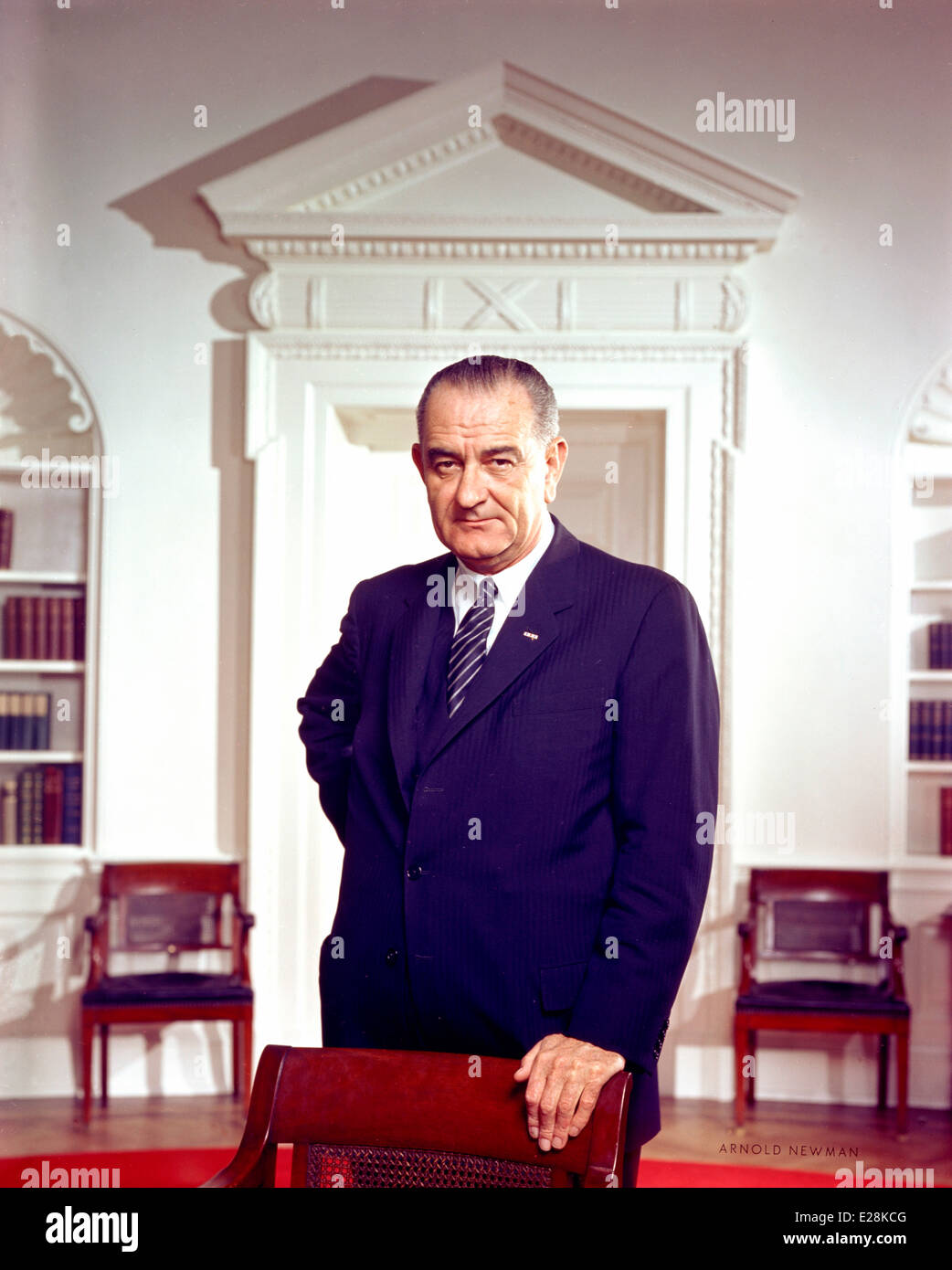 Lyndon B. Johnson, 36th President of the United States - Stock Image