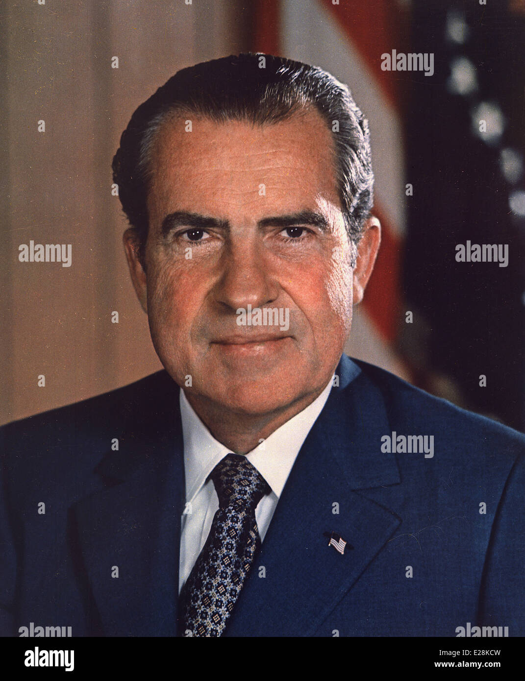 Richard Nixon, 37th President of the United States - Stock Image
