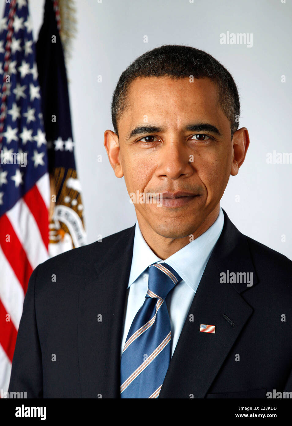 President Barack Obama, 44th President of the United States - Stock Image