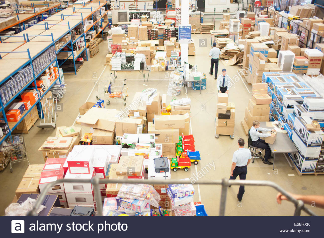 Shipping department - Stock Image