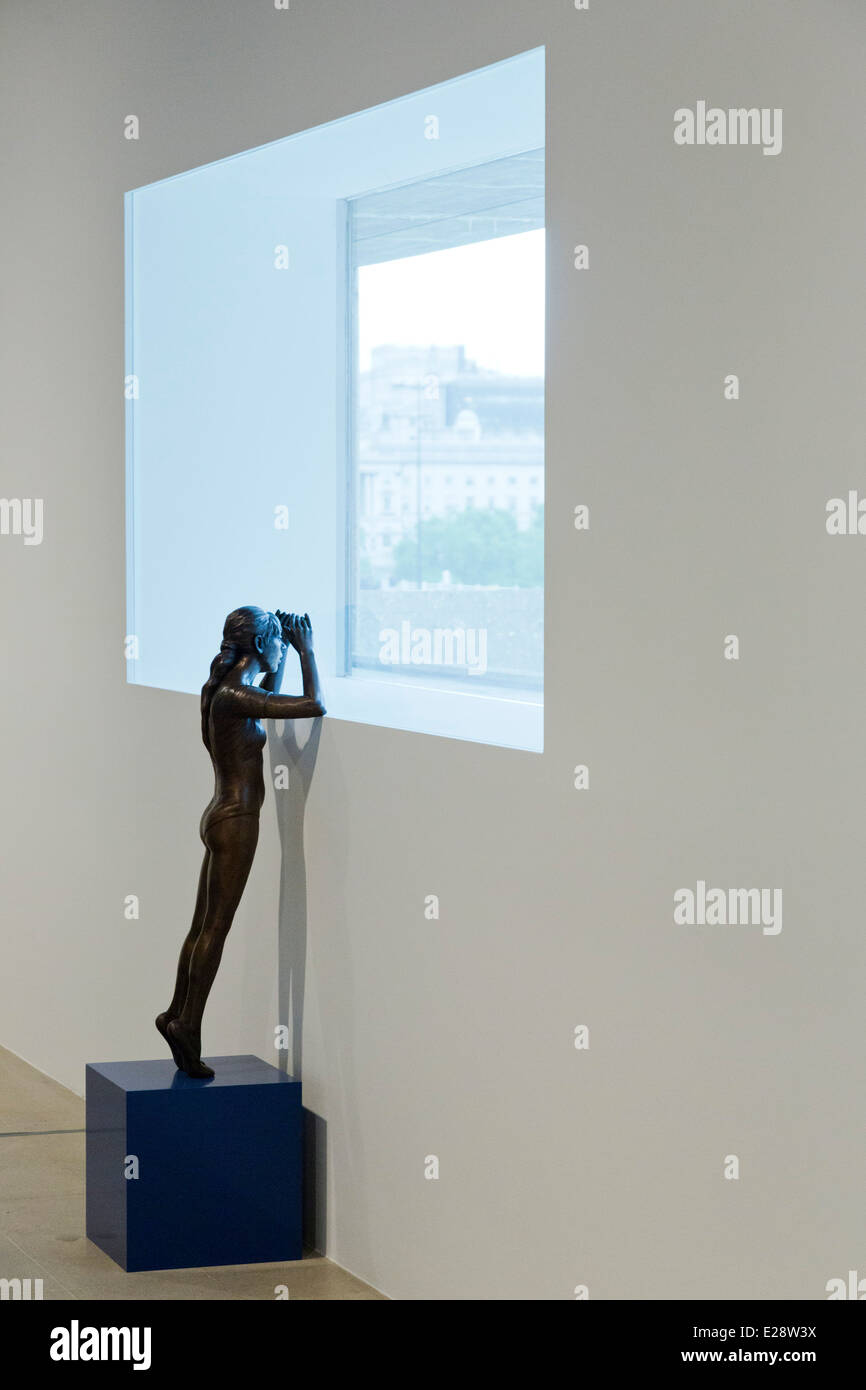 'The Human Factor, The Figure in Contemporary Sculpture', exhibition at the Hayward Galley, Southbank Centre, - Stock Image