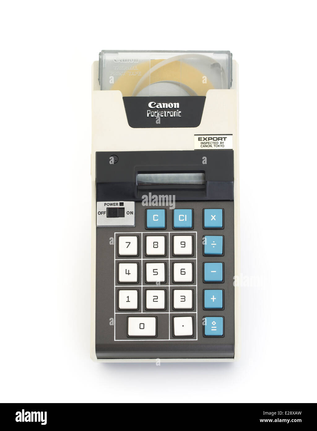 Canon Pocketronic One Of The First Pocket Calculators With Print Out