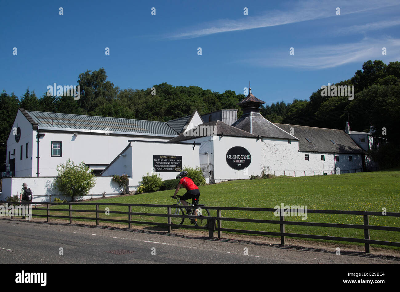 Glengoyne Whisky Distillery - Stock Image