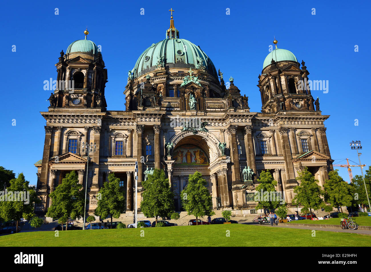 Berlin Cathedral, the Berliner Dom in Berlin, Germany - Stock Image