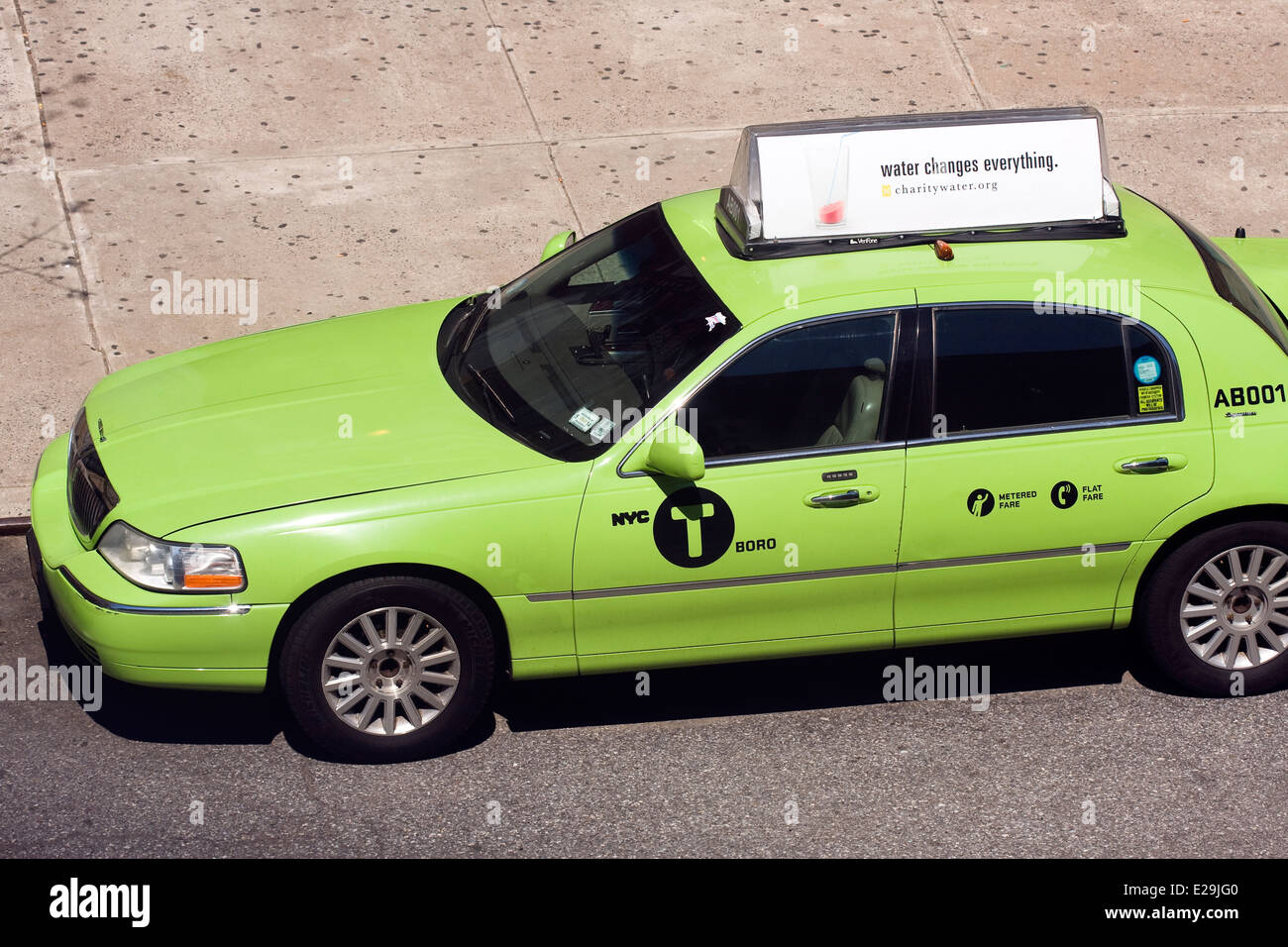 A Four Door Lincoln Town Car Signature Series Sedan Converted To A