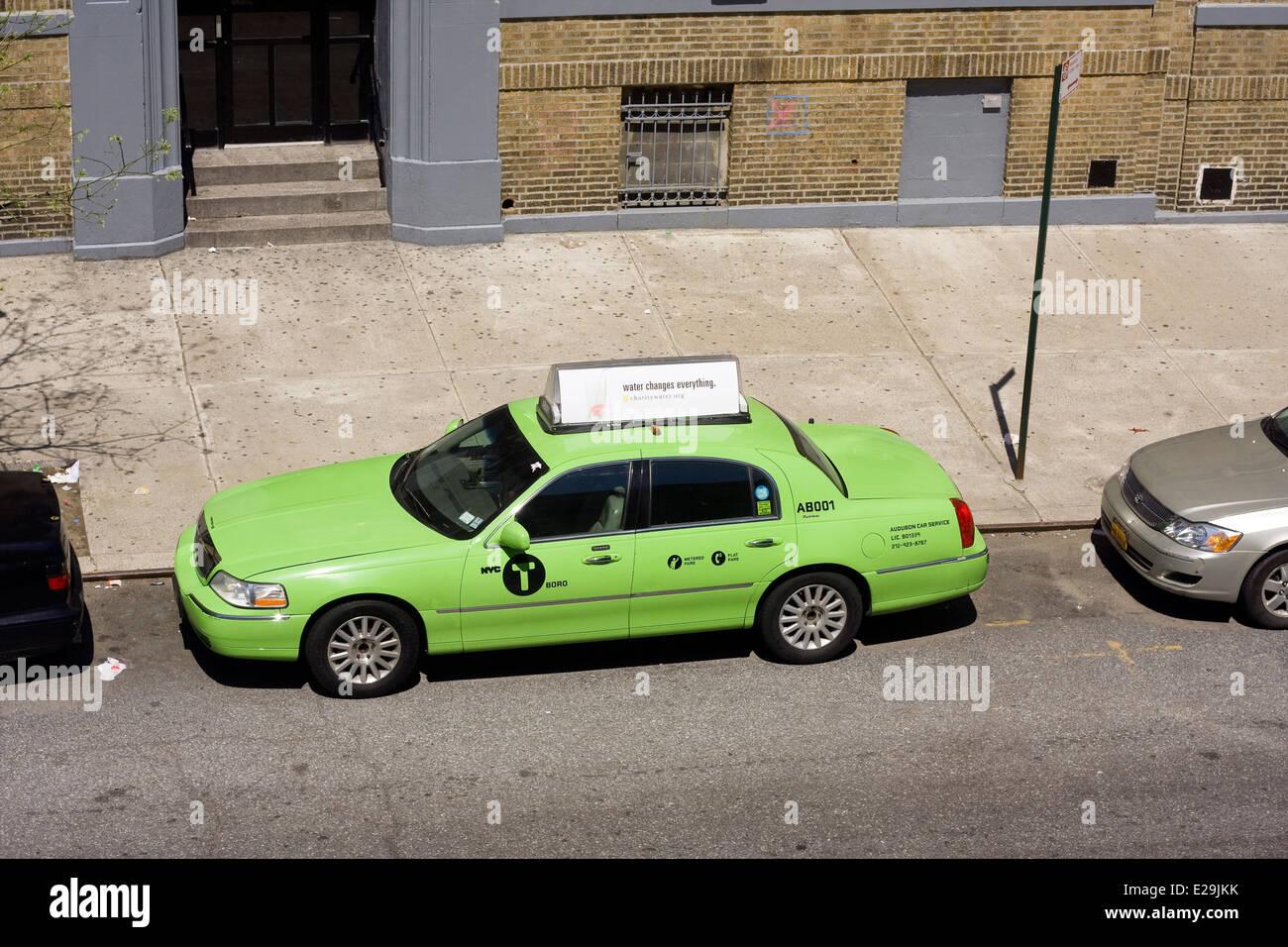 Green Cab Stock Photos & Green Cab Stock Images - Alamy