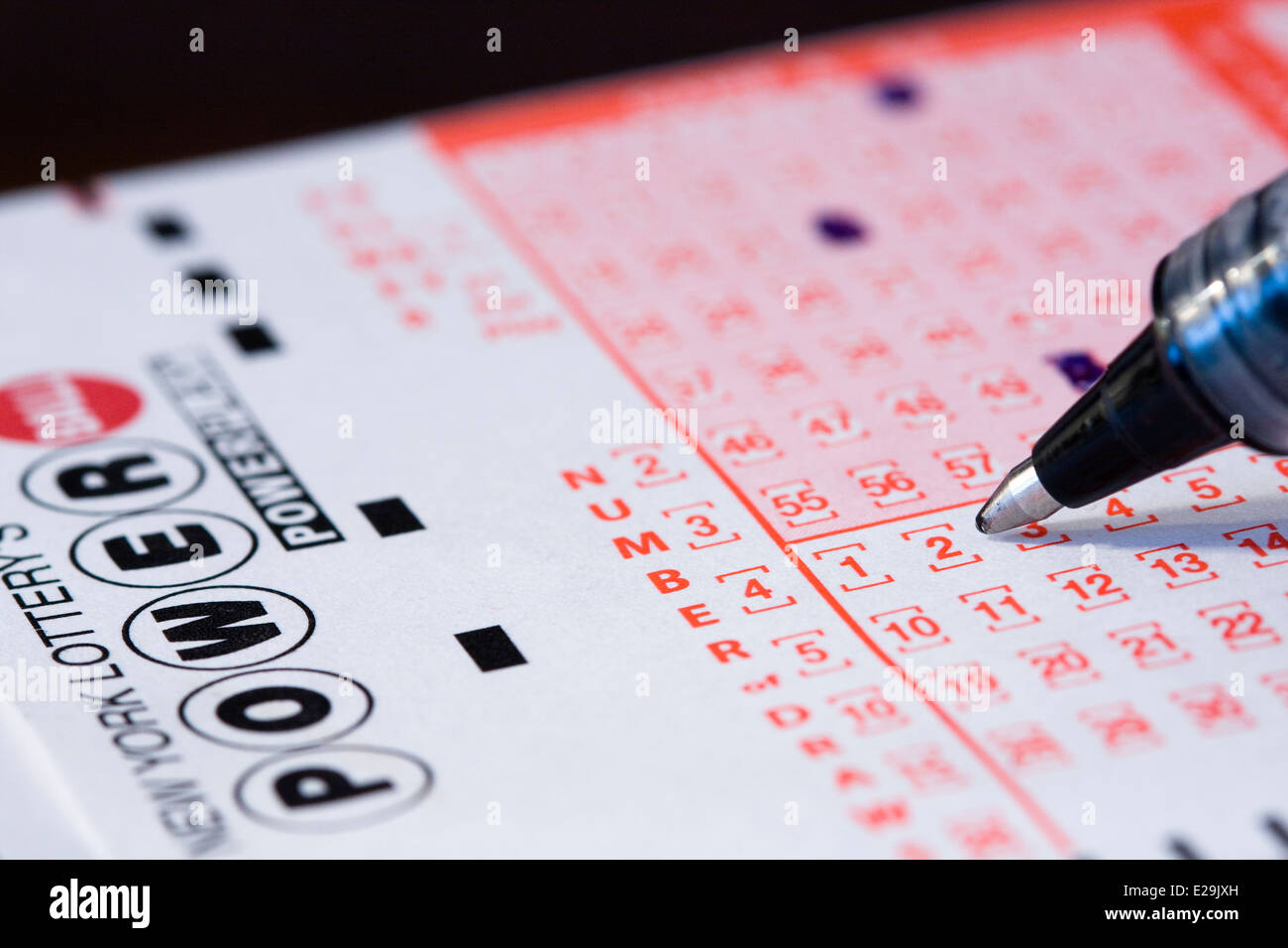 Lottery Numbers Stock Photos & Lottery Numbers Stock Images - Alamy
