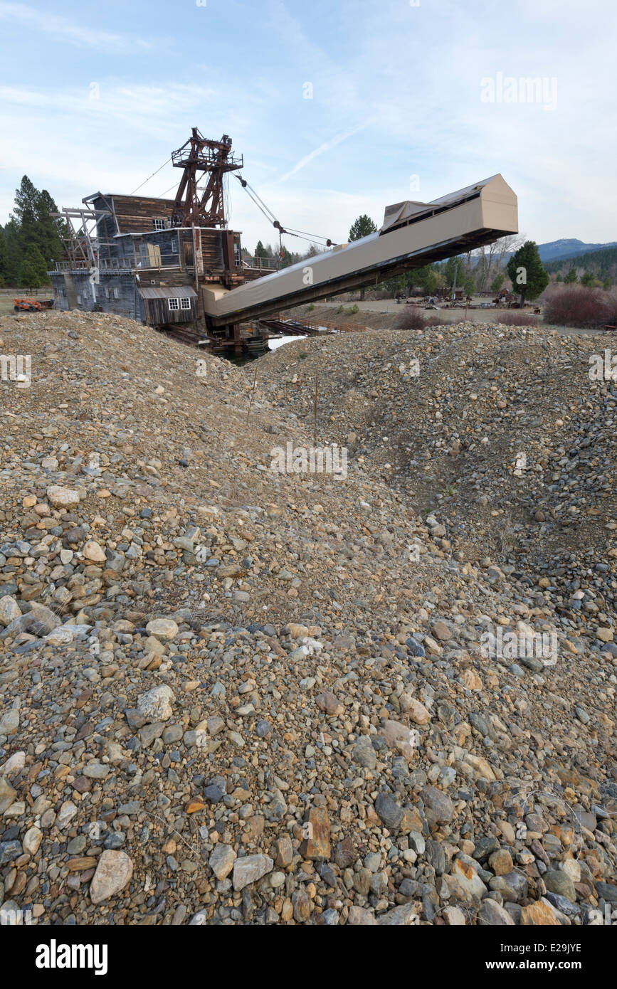 Dredge Tailings Stock Photos & Dredge Tailings Stock Images - Alamy