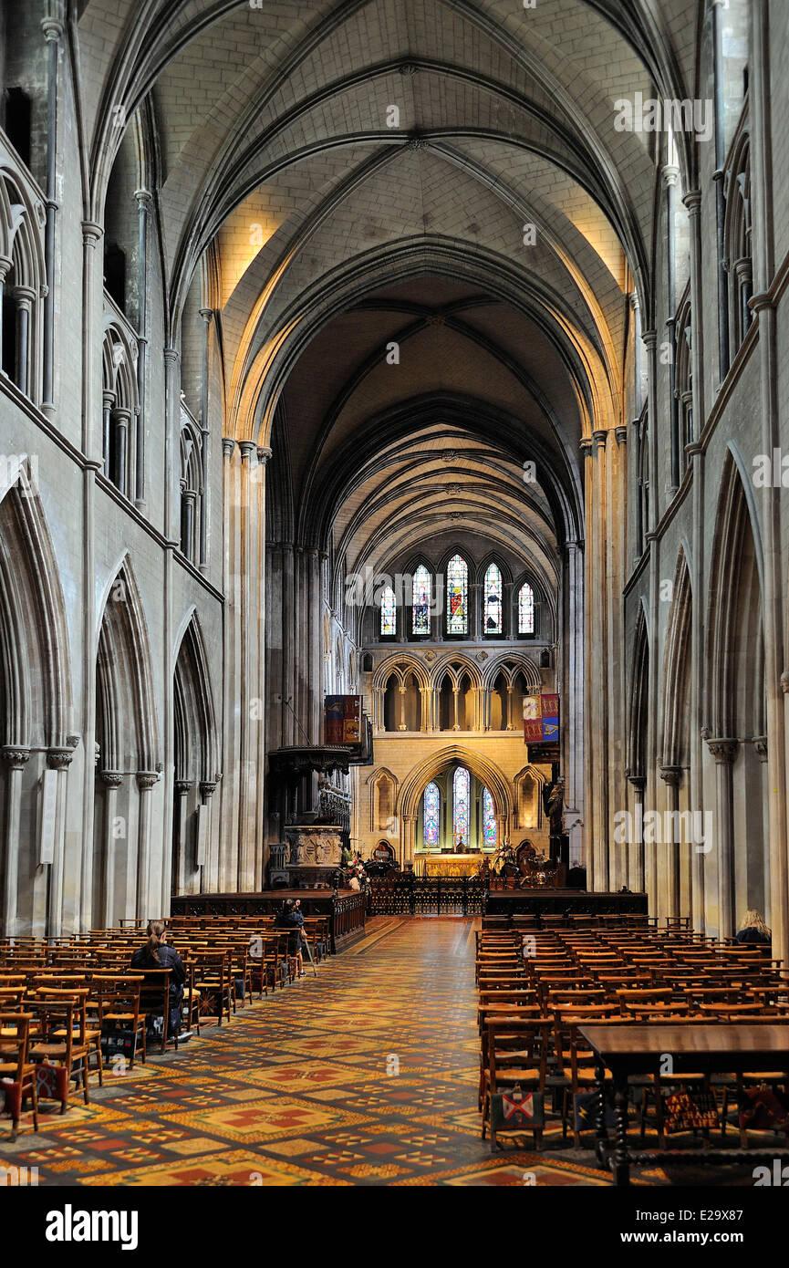 Ireland, Dublin, St Patrick's Cathedral - Stock Image