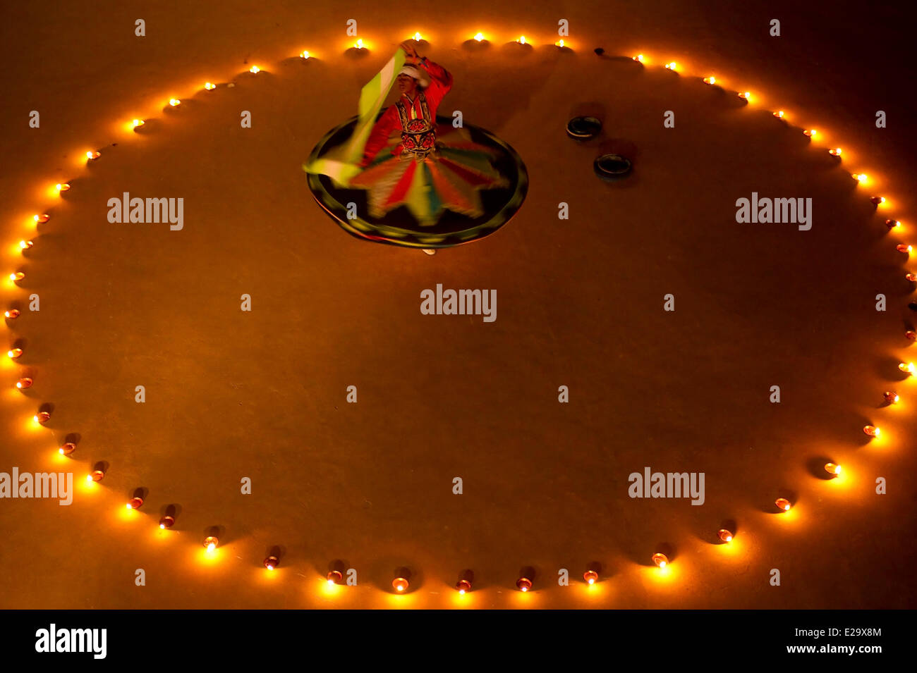 India, Rajasthan state, Nagaur, sufi festival - Stock Image