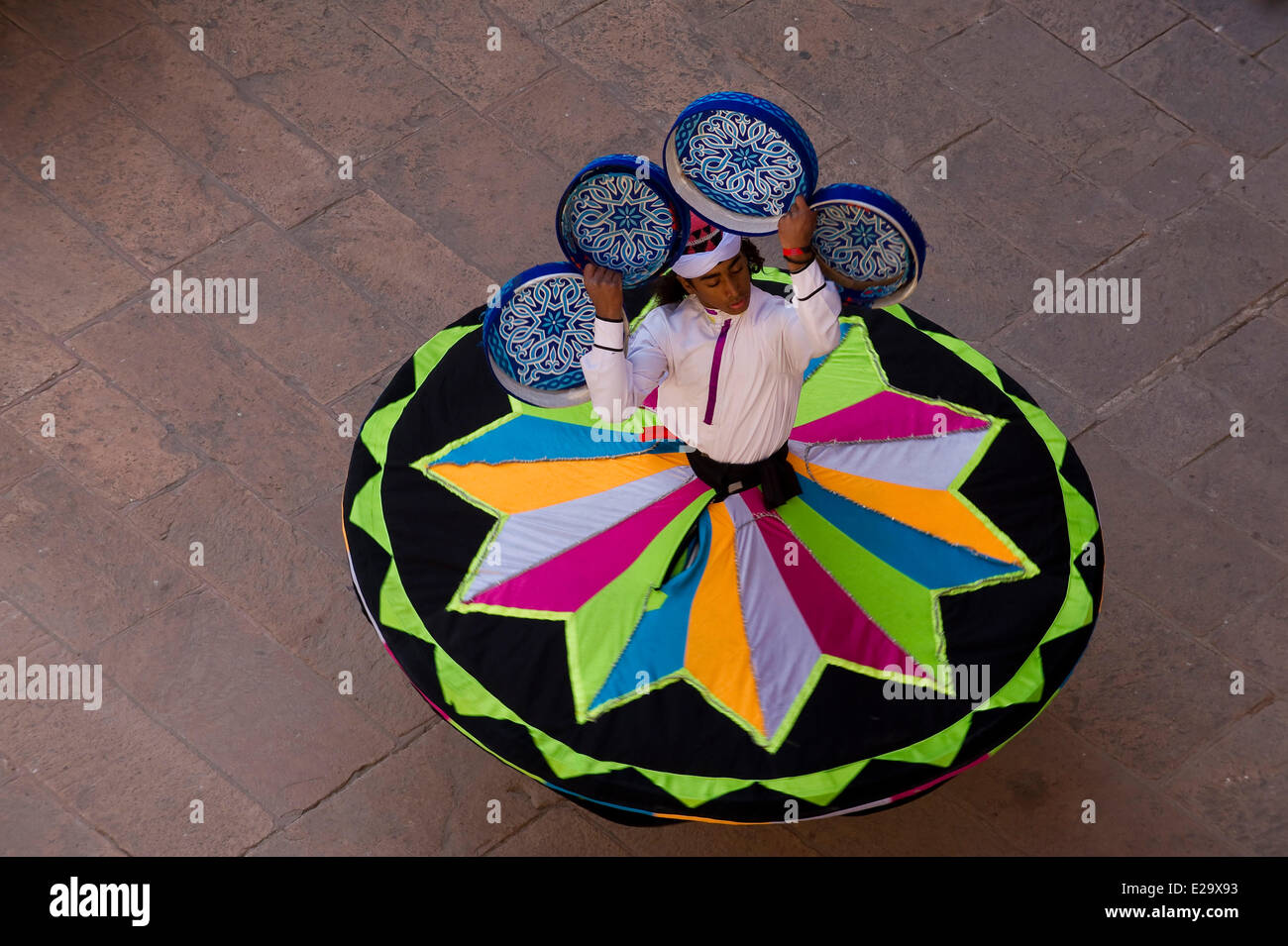 India, Rajasthan state, Jodhpur, Mehrangarh Fort, sufi festival - Stock Image