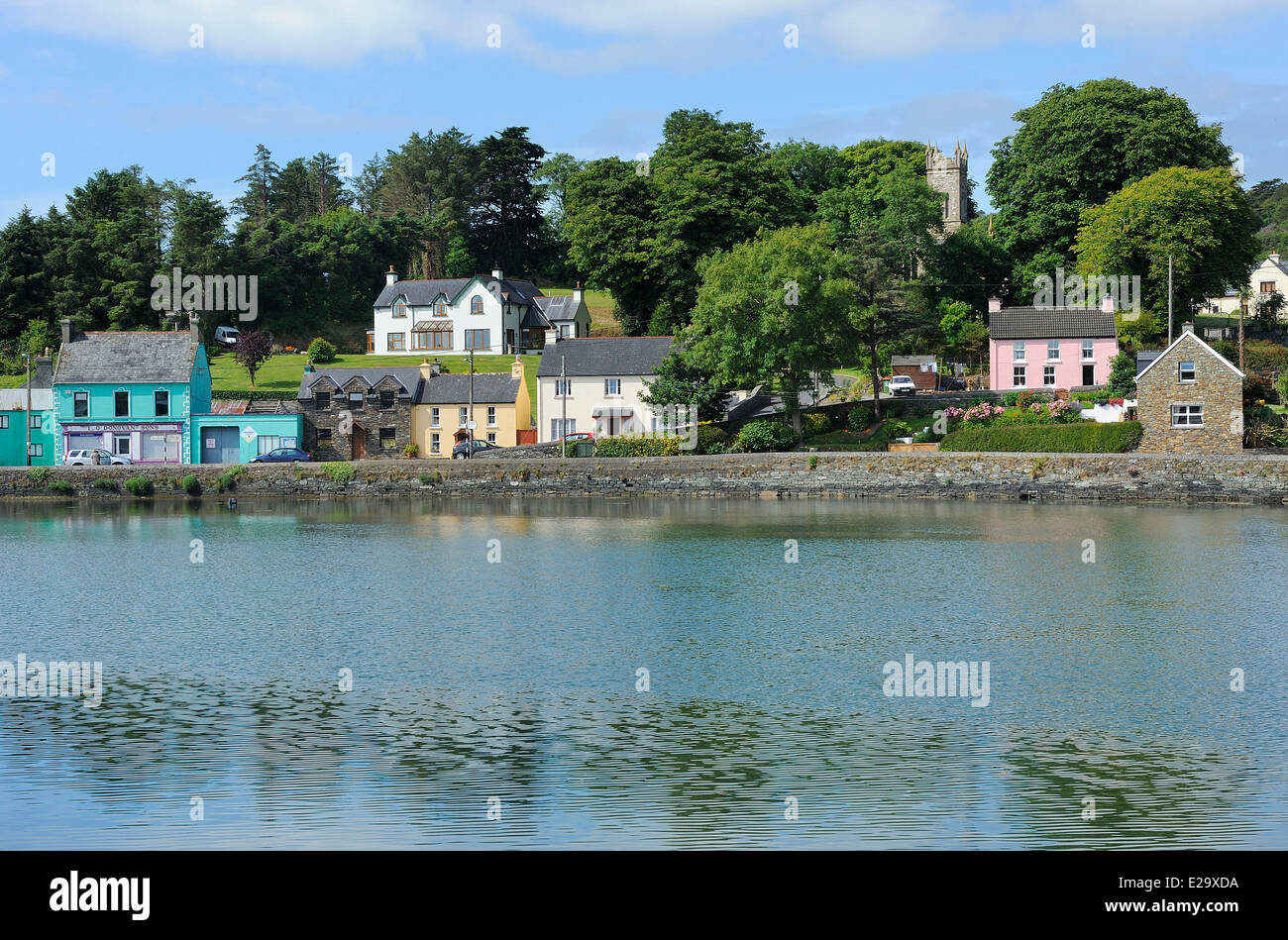 Ireland, County Cork, Union Hall Stock Photo: 70289110