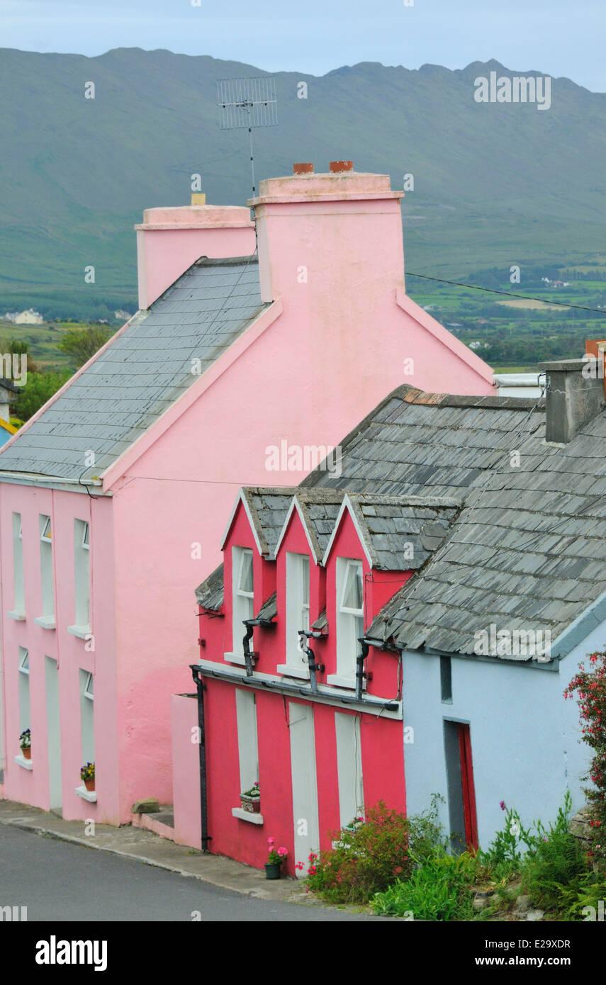 Ireland, County Cork, Beara peninsula, Allihies - Stock Image