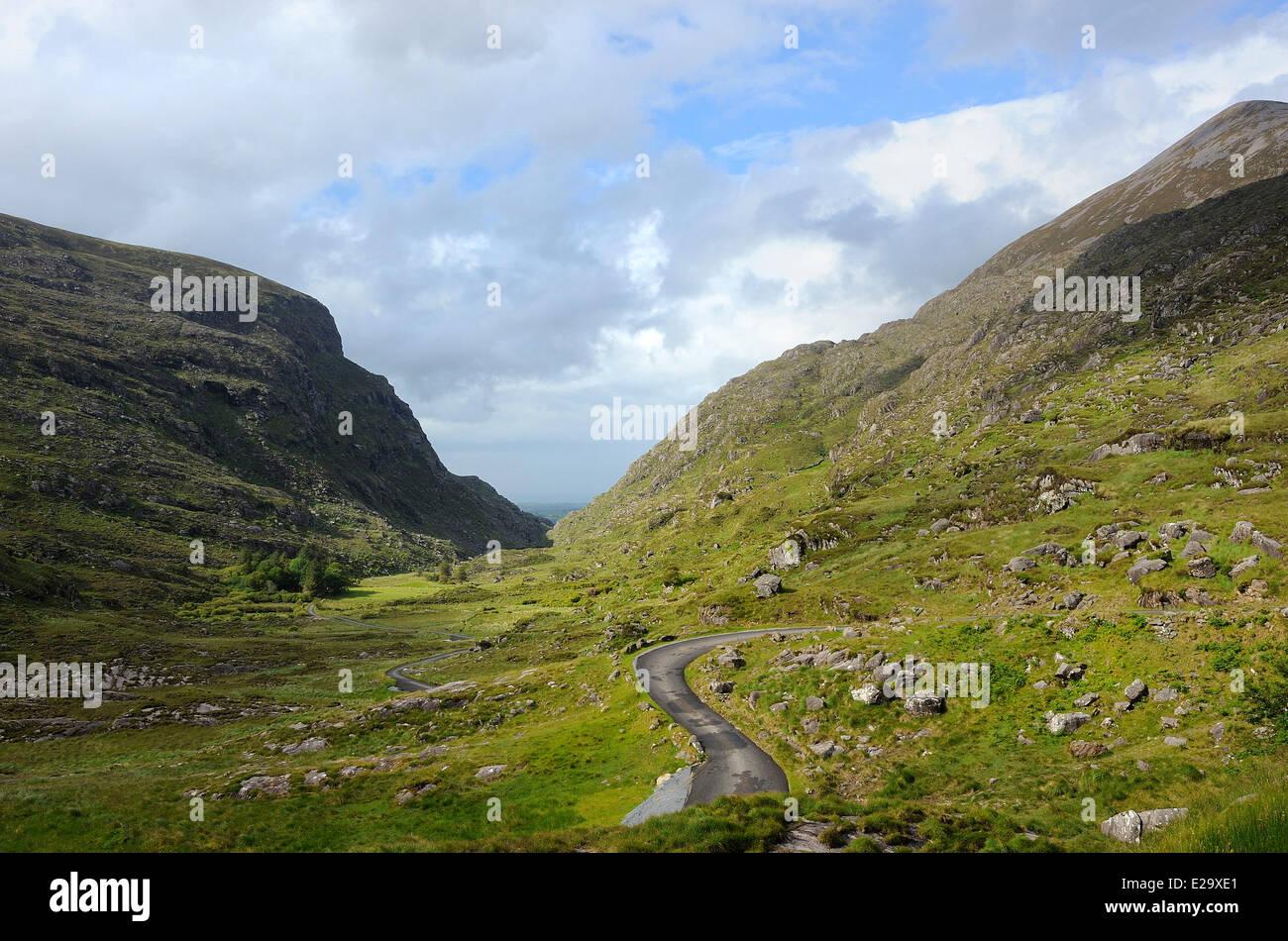 Ireland, County Kerry, Killarney region, Gap of Dunloe Stock Photo